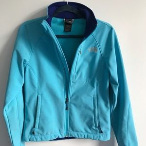 Beautiful blue North Face jacket